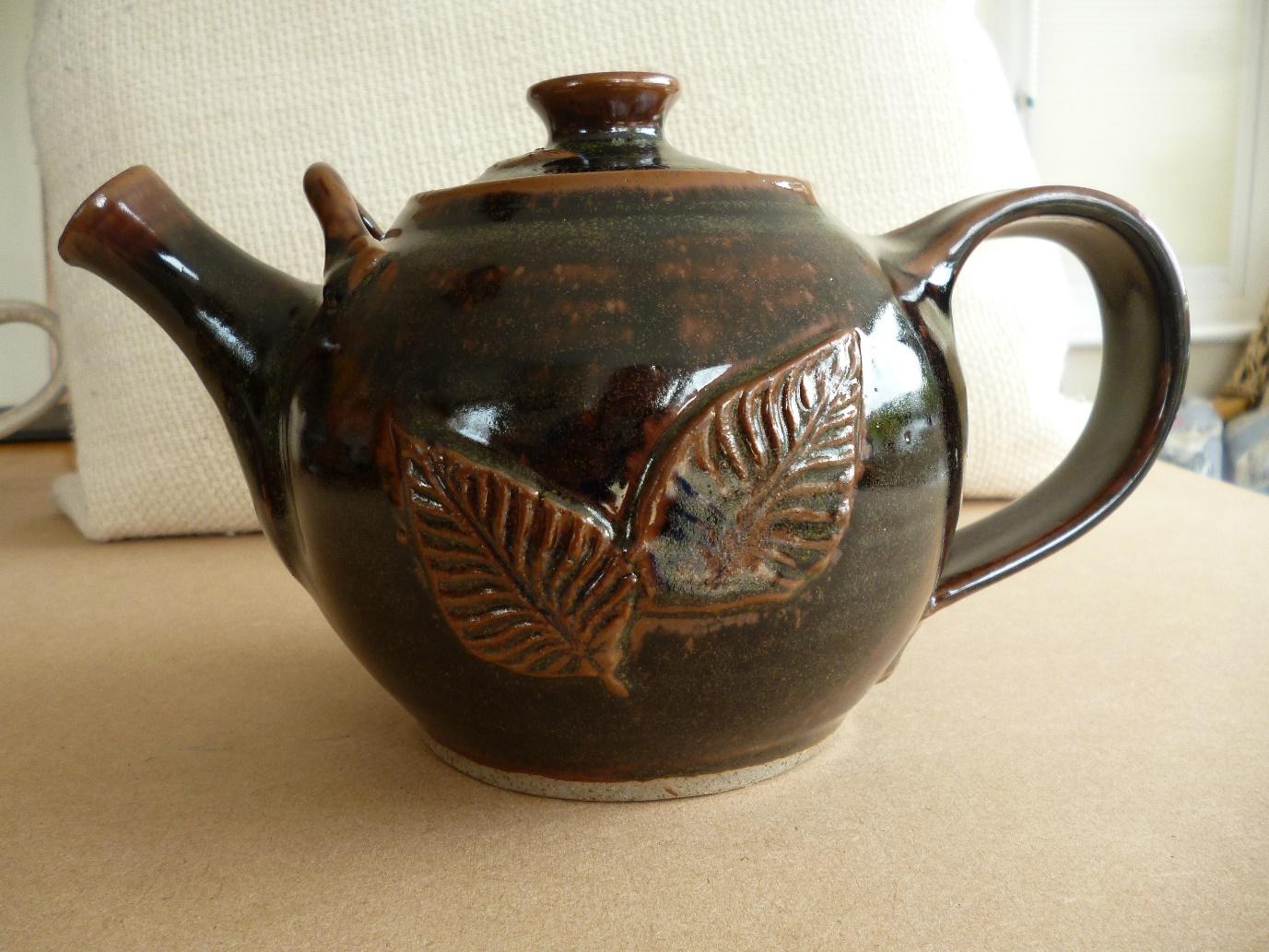 Max Balme Tenmoku Teapot