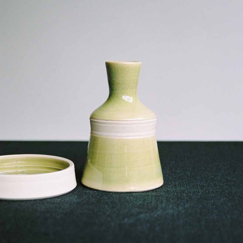 5 Oil bottle and condiment dish Jane Sarre Ceramics