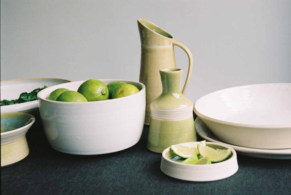 6 Feast collection Jane Sarre Ceramics