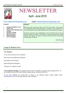 SCG Newsheet April June 2018